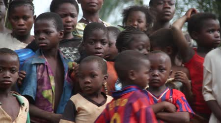orphans : African children Stock Footage