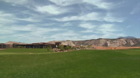 deserto : golf course with beautiful clouds