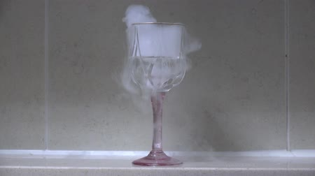 reverse regeneration of dry ice smoke
