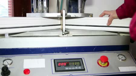 merging : PVC Window Welding Machine