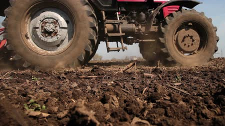 plowed land : Preparing Land for Sowing in Spring