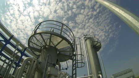 rigs : Petrochemical Plant Stock Footage
