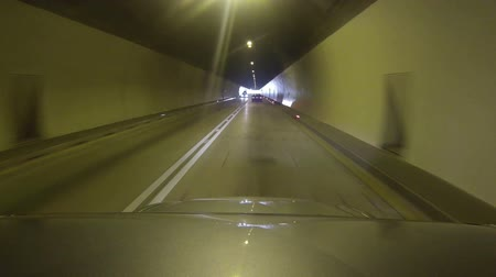 time journey : Driving in a Tunnel - TIME LAPSE