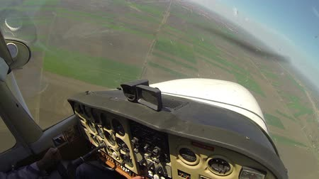 boldness : Airplaine Flying in the Air - Time Lapse