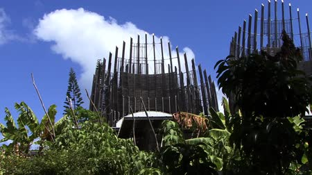 melanesia : Cultural Centre in New Caledonia