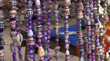 Shell beads necklaces