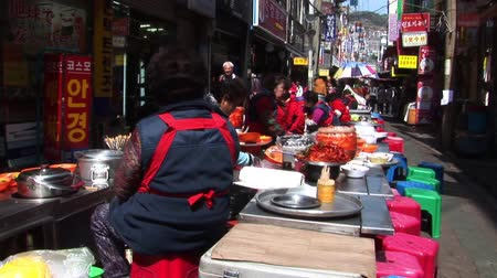 South Korea Street Food Vendors