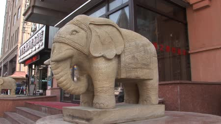 peking : Stone Elephant in China