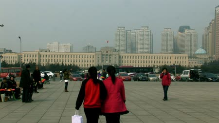 Dalian China Peoples Square
