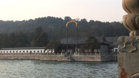 Summer Palace China Stock Footage