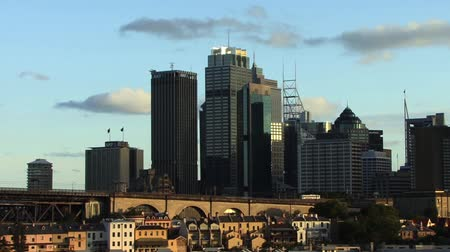 Skyscrapers in Sydney Stock Footage