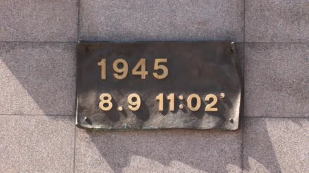 Time Date of Atom Bomb Nagasaki Japan Ground Zero