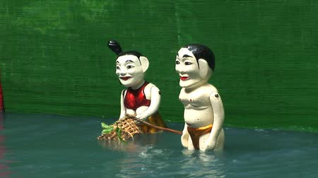 north vietnam : Vietnam Water Puppets