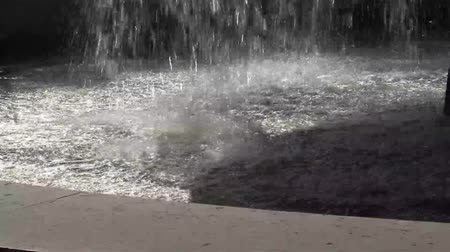 Water Fountain Splashing