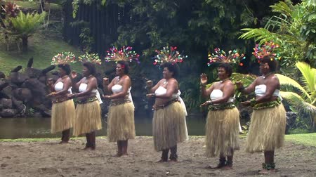 Fire Walker Native Fijian Women Dancing