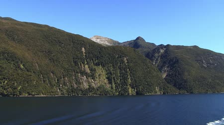New Zealand Fjords Stock Footage