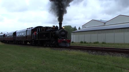 puffing : Steam Train Stock Footage