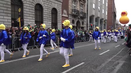 procession : St Patricks Day Parade Dublin