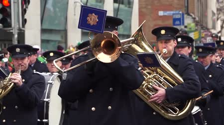 irlandês : St Patricks Day 2015 Trumpet Players