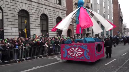 procession : St Patricks Day Dublin Large Box