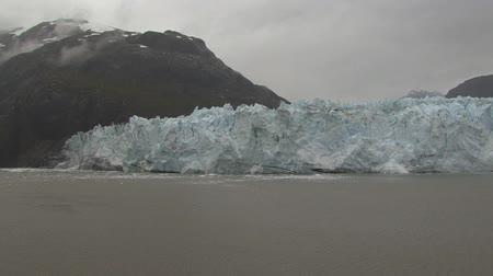 remoto : Glacier Bay en Alaska Archivo de Video