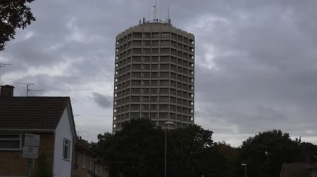 vízpart : Block of flats in England