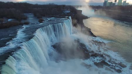 sete : Aerial view of Niagara Falls