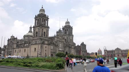 metropolitano : Mexico City, Mexico-CIRCA June,2014: Metropolitan Cathedral. The building is one of most representative by catholics in Mexico. Most of mexicans are catholics. Also is an attractive tourist.
