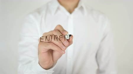 conferência : Entrepreneurs Wanted, Written on Glass
