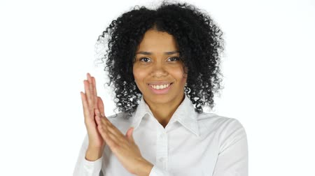 sikerül : Black Woman Applauding, Clapping