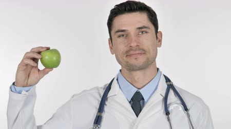 lekarstwo : Doctor Showing Green Apple Health Care