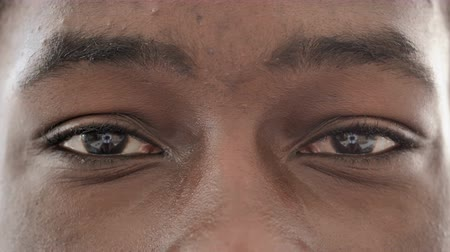 emin : Blinking Eyes of African Man, Close up