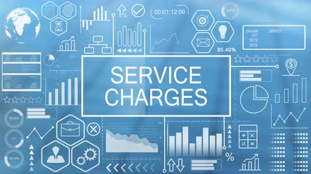 charges : Service Charges, Animated Typography