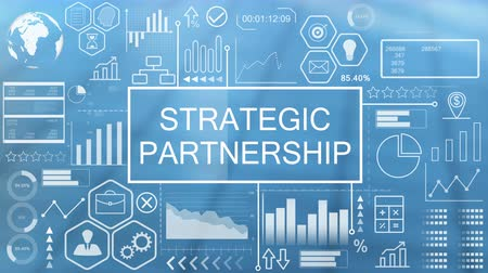 partnerstwo : Strategic Partnership, Animated Typography