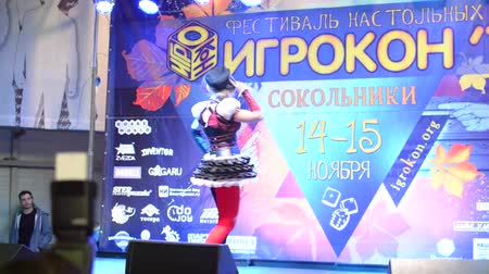 HD Moscow, Russia - November 14, 2015:  Public Festival board games - Cosplay