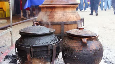 cooking pots : On big events food is need to be cooked in a large pots.