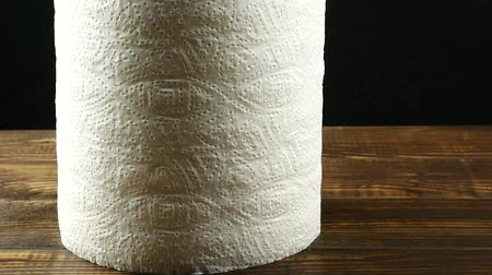 single shot : Roll of paper kitchen towels texture