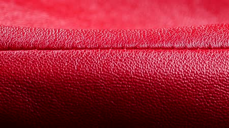 bumps : red leather texture background