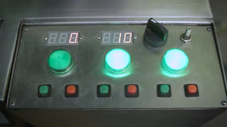 toggle : Control panel, industrial display, switching toggle