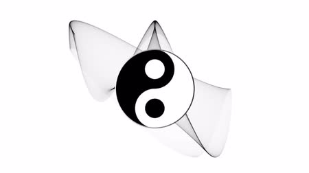 karma yoga : Ying yang symbol of harmony and balance