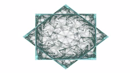 elétron : Computer generated fractal artwork for creative design, art and entertainment Vídeos