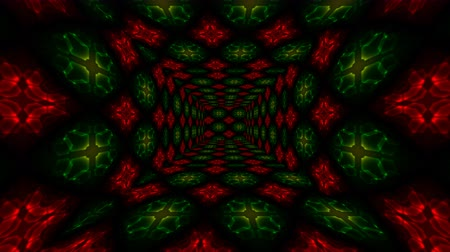 tahy : Beautiful Abstract Square Tunnel with Red Light Lines Moving Fast. Set of several video elements. Background Futuristic Tunnel with Neon Lights. Looped 3d Animation Art Concept. Dostupné videozáznamy