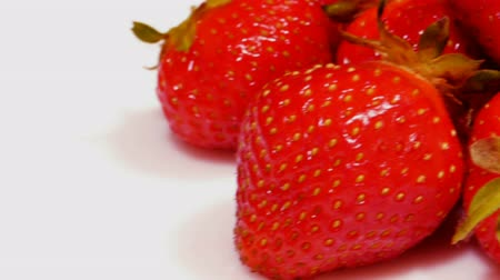 çilek : HD - Strawberry_slide_close-up Stok Video