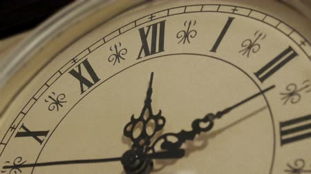 minute hand : HD - Old Watch Stock Footage