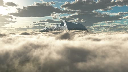 copter : HD - Mountains in the clouds