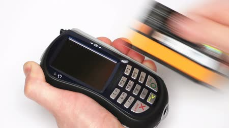 karta kredytowa : HD - Credit Card Terminal_Green led Wideo