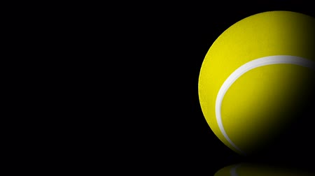 tennis game : HD - Tennis ball. background Stock Footage
