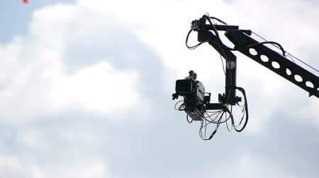 broadcast video : HD - TV camera crane