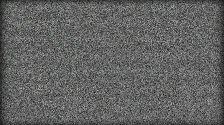 radio wave : HD - TV Turn On-Off Effect with sound Stock Footage