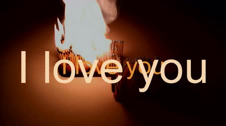 The passion of one ignites new ideas, emotions, change in write love you Wideo